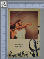 POSTCARD - ROXY MUSIC -  LP'S COLLETION -   2 SCANS  - (Nº45339) - Music And Musicians