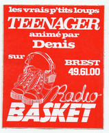 Brest (29 Finstère)  Autocollant RADIO BASKET (PPP32253) - Adesivi