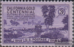 U.S. 566 (complete Issue) Unmounted Mint / Never Hinged 1948 Goldfunde In California - Unused Stamps