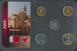 Bahrain Inseln Stgl./unzirkuliert Kursmünzen Stgl./unzirkuliert Ab 1991 5 Fils Bis 100 Fils (9648409 - Bahrein