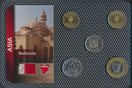 Bahrain Inseln Stgl./unzirkuliert Kursmünzen Stgl./unzirkuliert Ab 1991 5 Fils Bis 100 Fils (9648410 - Bahrein
