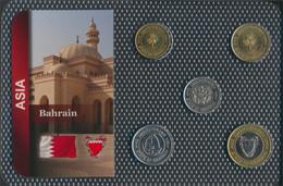 Bahrain Inseln Stgl./unzirkuliert Kursmünzen Stgl./unzirkuliert Ab 1991 5 Fils Bis 100 Fils (9648411 - Bahrein