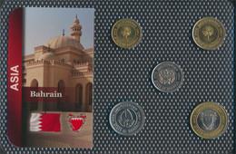 Bahrain Inseln Stgl./unzirkuliert Kursmünzen Stgl./unzirkuliert Ab 1991 5 Fils Bis 100 Fils (9648412 - Bahrein