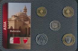 Bahrain Inseln Stgl./unzirkuliert Kursmünzen Stgl./unzirkuliert Ab 1991 5 Fils Bis 100 Fils (9648413 - Bahrein