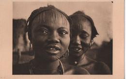 Carte Postale Ancienne/Afrique Equatoriale Française / TCHAD/ Femmes Sara De Port Archambault/ Vers 1930-40  CPDIV342 - Chad