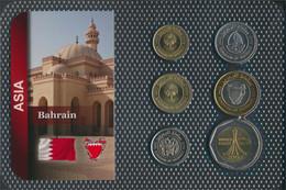 Bahrain Inseln Stgl./unzirkuliert Kursmünzen Stgl./unzirkuliert Ab 2002 5 Fils Bis 500 Fils (9648402 - Bahrein