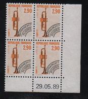 FRANCE  Coin Daté **   N° Yvert Préo 204  29.05.89  Neuf Sans Charnière CD - Vorausentwertungen