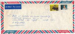 Canada (1989) - Busta Posta Aerea Per Il Regno Unito - Postal History