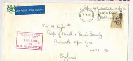 Canada (1986) - Busta Posta Aerea Per Il Regno Unito - Postal History