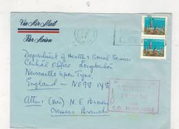 Canada (1987) - Busta Posta Aerea Per Il Regno Unito - Postal History