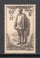- FRANCE N° 420 Neuf ** MNH - 90 C. + 35 C. TRULIN 1939 - Cote 20,00 € - - Nuevos