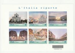 Italia Che Riparte - Foglietto 2021 - Blocchi & Foglietti