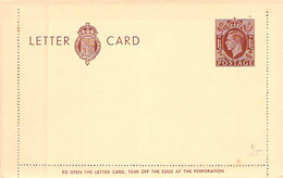 Letter Card 1 1/2 D England - Unused Stamps