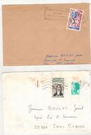 Francia (1982/84) - 2 Buste Per L'interno - Briefe U. Dokumente