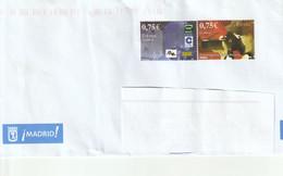 EXPO JUVENIL ESPANA 2002(SUR LETTRE NON OBLITERES) - 2001-10 Storia Postale