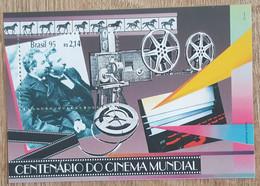 Brésil - YT BF N°96 - Centenaire Du Cinéma - 1995 - Neuf - Blocks & Sheetlets