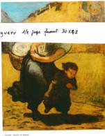 La Dentelière De J. Vermeer ( Représentation Tirée D'un Calendrier , Format 25x20 - Altri