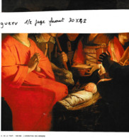 L'adoration Des Bergers De G. De La Tour ( Représentation Tirée D'un Calendrier , Format 25x20 - Altri