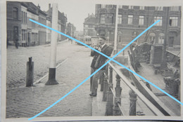 Photo OOSTENDE TRAM Tramway Bateau Boot Poort Photographe 1936 Kust - Places