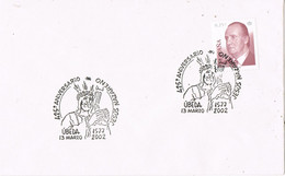 41954. Carta UBEDA (Jaen) 2002. Aniversario Jesus Nazareno. Semana Santa - 2001-10 Storia Postale