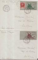 """FRANCE : GUERRE . TIMBRES DE ST NAZAIRE . SURCHARGES LIBERATION . OBL . """" LA BAULE """" . 2 LETTRES . 1945 . - Guerra De 1939-45"""