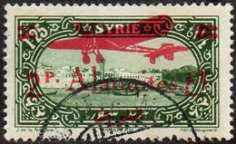 Alaouites Obl. N° PA 17 - Site Ou Monument - Port De Lattaqué Surchargé Avion Et 2pi Sur1.25 - Usati