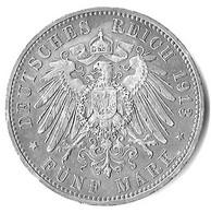 Deutschland Preußen - Deutsches Reich - 5 Mark 1913 A - Silber - 2, 3 & 5 Mark Silber