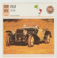 Verzamelkaarten Collectie Atlas: FIAT 525 SS - Automobili