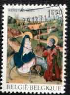 België - Belgique - C2/9 - (°)used - 1971 - Michel 1662 - Kerstmis - Oblitérés