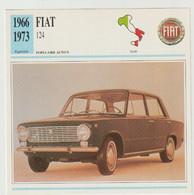 Verzamelkaarten Collectie Atlas: FIAT 124 - Automobili