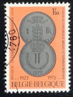 België - Belgique - C2/9 - (°)used - 1972 - Michel 1673 - Belgisch-Luxemburgse Muntunie - Oblitérés