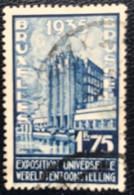 België - Belgique - C2/9 - (°)used - 1935 - Michel 381 - Wereldtentoonstelling - Oblitérés