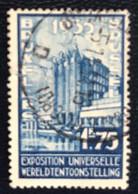 België - Belgique - C2/10 - (°)used - 1935 - Michel 381 - Wereldtentoonstelling - Oblitérés