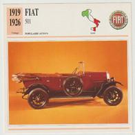 Verzamelkaarten Collectie Atlas: FIAT 501 - Automobili