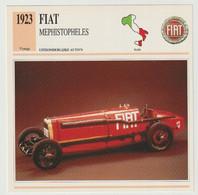 Verzamelkaarten Collectie Atlas: FIAT Mephistopheles - Automobili