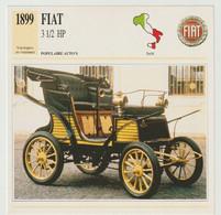 Verzamelkaarten Collectie Atlas: FIAT 3 1/2 HP - Automobili