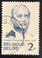België - Belgique - C2/10 - (°)used - 1962 - Michel 1274 - Alexis Marie Gochet - Oblitérés