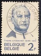België - Belgique - C2/10 - (°)used - 1962 - Michel 1274 - Alexis Marie Gochet - BRAINE-LE-COMTE - Oblitérés
