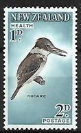 New Zealand - MNH ** 1960 :    Sacred Kingfisher -   Todiramphus Sanctus - Andere