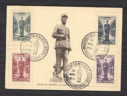 0le  0125  -  Maroc  :  Yv  299-01 +  Av 59   (o)    Carte Maximum Premier Jour - Covers & Documents