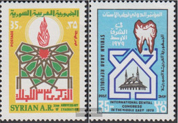 Syria 1430,1431 (complete Issue) Unmounted Mint / Never Hinged 1979 Truppenabzug, Zahnmedizin - Syrien