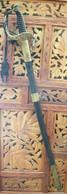 Sabre D'Officier De Marine Et Fourreau Dans Son Jus Modèle 1837-1857-1954 ? à Finir De Nettoyer Franco Port France Métro - Knives/Swords