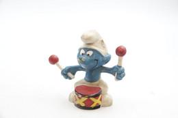 Smurfs Nr 20009#6 - *** - Stroumph - Smurf - Schleich - Peyo - Drum - I Puffi