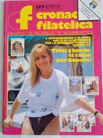 Cronaca Filatelica 177 1992 Quarto Mille Ingegnere Pagani Boemia Moravia Francobolli '92 Gremion Bogoni Colombo Barberis - Arte, Design, Decorazione