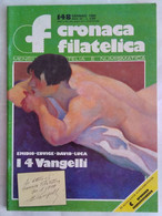 Cronaca Filatelica 148 Annulli Falsi Vangelli David Emidio Edvige Vaticano San Marino Mundial Poste '89-'90 Segnatasse - Arte, Design, Decorazione