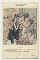 Carte Fantaisie - Nos Humoristes N° 1 - Carnaval - Illustrateur Albert Guillaume - Guillaume