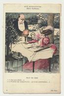 Carte Fantaisie - Nos Humoristes N° 4 - Plat Du Jour - Illustrateur Albert Guillaume - Guillaume
