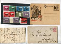 """Weltweit / Posten """"Diverses"""" (Briefe, Ganzsachen, Marken .......) Vgl. -> Fotos (4609-410) - Lots & Kiloware (max. 999 Stück)"""