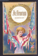 Decoration Day - Patriotic Embossed OLD POSTCARD (see Sales Conditions) - Other Topics