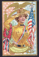 A Daughter Of The Regiment - Patriotic Embossed OLD POSTCARD (see Sales Conditions) - Other Topics
